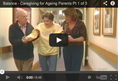 Balance Caring for Ageing Parents