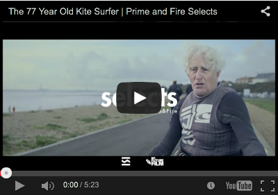 Documentary The 77 Year Old Kite Surfer