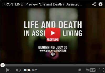 Fontline Life and Death in Assisted Living